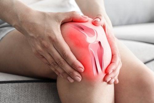 Identificar donde nos duele de la rodilla